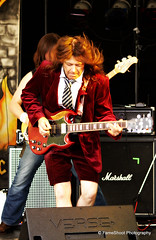 Hells Bells (FameShoot Photography) Tags: guitarist face red dancing playing jumping band rock festival middle nowhere music stage bristol performer musician people