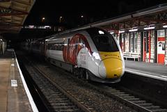 The Future (Teignstu) Tags: teignmouth devon railway station iep azuma class800 800101 testing night nikond7200
