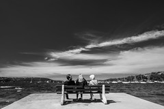 DSC01590 (Damir Govorcin Photography) Tags: people sky clouds water boats sydney balmoral beach natural light zeiss 1635mm sony a7ii