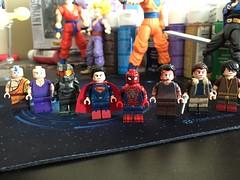 WIP (SuperProp) Tags: halo avatar superman spiderman lego twd custom legocustoms dragonballz dragonball dbz