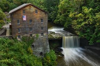 Lanterman's Mill - Canfield, Ohio.