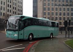 Clarkes BV10ZKE Mercedes Benz Tourismo (chrisbell50000) Tags: favorite london tower mercedes benz coach hill deck single favourite decker tourismo clarkes bv10zke chrisbellphotocom