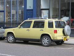 Nissan Rasheen (Malcolm Edwards) Tags: uk england london car nissan unitedkingdom 4wd vehicle malc w11 rasheen nissanrasheen