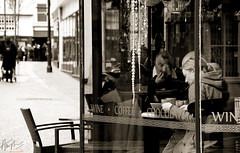 ~ Morning Coffee ~ (ADAM TAYLOR | Photography) Tags: street city uk greatbritain windows shadow people adam slr window coffee shop sepia composition canon point photography eos town photo cafe sitting break shadows view place unitedkingdom pov watching cities streetphotography places canterbury location pointofview photograph taylor gb shops dslr tones highstreet tone breaks shopfront coffeebreak cafes locations facebook highst cathedralcity digitial shopfronts adamtaylor twitter coffeebreaks 60d canterburykent canoneos60d eos60d adamtaylorphotography adamt1991