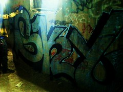 Sky ALL (ayeelel46) Tags: sky chicago graffiti all shot action silos damen skyler
