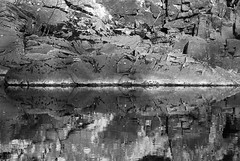Reflections Garry River (Gordon Haws) Tags: perthshire riverbed struan rivergarry calvine blairatholl hydroelectricity garryriver