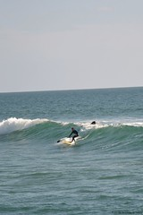 Stand Up Paddle (ant0rm) Tags: blue sea summer sky sun water vertical surf waves surfer paddle wave uploads mypictures