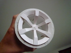 15-wheel (Fabien Jonckheere) Tags: up car wheel sport 3d cardboard mans le mock jonckheere fabien