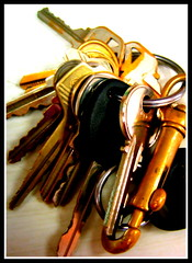 alone together (milomingo) Tags: metal keys many group collection bunch multiple uselessthings
