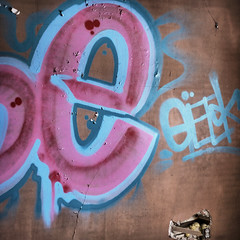 eGEEK (red_dotdesign) Tags: abandoned farmhouse square typography graffiti type rurex
