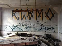 Clam & Nice (Franny McGraff) Tags: one graffiti nice nation indiana clam pf clamo