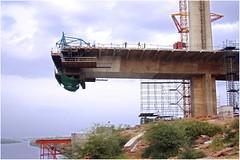 Bridge across Chambal River, Kota (ramnath bhat) Tags: india asia structure digitalphotography stockphotography ramnathbhat bridgeacrosschambalriverkota