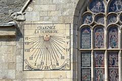 Notre-Dame-de-Croas-Batz : Fear the last (hour) : sur explore (BrigitteChanson) Tags: church brittany roscoff bretagne église finistère vitraux solaire cadran