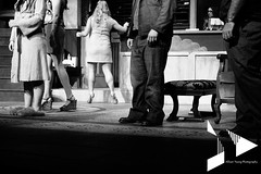 Standoff (Allison Young Photography) Tags: blackandwhite feet foot shoe grey costume shoes theater legs candid stage nevada leg gray performance grayscale reno greyscale unr