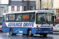 Advance Drive (93G6563). (Fred Dean Jnr) Tags: bus galway coach renault december2006 drivertrainingvehicle eyresquaregalway advancedrive 93g6563