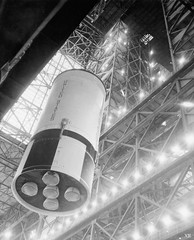 1969 ... SII - 2nd stage - Saturn V assembly! (x-ray delta one) Tags: sf mars 1955 illustration vintage mercury space astronaut nasa 1950s skylab scifi lifemagazine rocket sciencefiction 1960s outerspace tomorrowland apollo gemini mir cosmonaut vostok thefuture aerospace cccp saturnv soyuz worldoftomorrow spacerace spaceexploration magazineillustration maninspace robertmccall