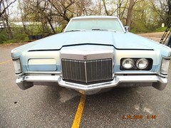 "1969 Lincoln Mark III • <a style=""font-size:0.8em;"" href=""http://www.flickr.com/photos/85572005@N00/8680124053/"" target=""_blank"">View on Flickr</a>"