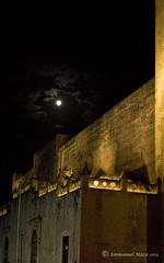 Luna sobre Catedral (Emmanuel Maza) Tags: yucatán mérida catedralmérida