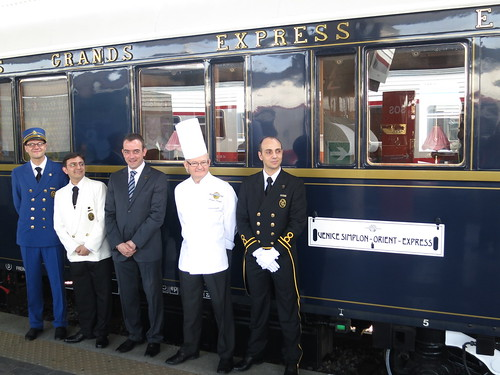 Venice-Simplon-Orient Express train staff