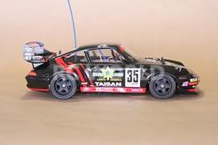 TAMIYA 1/10 RC PORSCHE 911 GT2 TURBO TAISAN STARCARD TA02SW (RC WORLD RADIO CONTROL HOBBY) Tags: 911 110 turbo porsche tamiya rc gt2 taisan starcard ta02sw