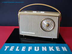 TELEFUNKEN Plastic Portable Transistor Radio (W-Germany 1966) (MarkAmsterdam) Tags: old classic sign metal museum radio vintage advertising design early tv portable colorful fifties tsf mark ad tube battery engineering pickup retro advertisement collection plastic equipment deck tape electronics era handheld sheet catalog booklet collectible portfolio recorder eames electrical atomic brochure console folder forties fernseher sixties transistor phono phonograph dealer cartridge carradio fashioned transistorradio tuberadio pocketradio 50s 60s musiktruhe tableradio magnetophon plaskon 40s kitchenradio meijster markmeijster markamsterdam coatradio tovertoom