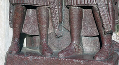 Tetrarchs, detail with legs
