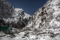 MBC After Snow (pbr42) Tags: nepal snow landscape valley annapurna hdr mbc luminance modi