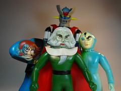 With Mazinger Z We Can Conquer The World!! (My Toy Museum) Tags: soft dr hell vinyl figure brocken ashura popy mazinger