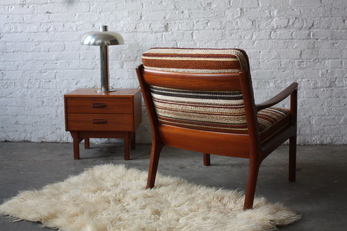 Outstanding Ole Wanscher (1903-1985) Teak Senator Arm Chair for France & Son (Denmark, 1951)