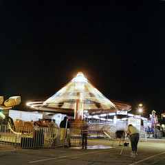 carny (Turbobuddha) Tags: carnival film amusement ride cross hasselblad velvia velvia100 processed carny hassy