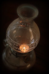 Home Sweet Home (Derek Hempel) Tags: old light home lamp vintage warm sweet antique