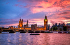 London sunset (jaani*) Tags: sunset london westminster southbank 2011