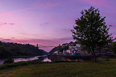 Clifton Sunset (Martin Allen Photography) Tags: bridge sunset sunrise bristol suspension clifton