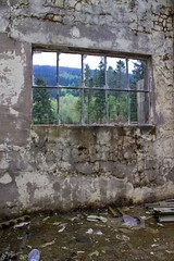 through the windows (tamaso64) Tags: windows abandoned scotland ruins argyll derelict argyllshire arrochar canoneos1100d