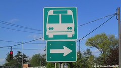 Bus Terminal Sign (Gerard Donnelly) Tags: saratogasprings enseigne ign
