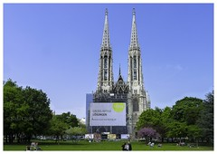 Votive Church Vienna (Nithi clicks) Tags: heritage architecture europe tour capital icon ciel excellent voyager archutecture capitale t ornamental glise gothique eglise vienne icones icone autriche ete gotique ciels toure historique architectur touriste europ chapiteau catholique ornemental attirance icne leurope hritage catholiques majuscule transmettre catolique lecatholique votif toures ornementale leurope lautriche propager