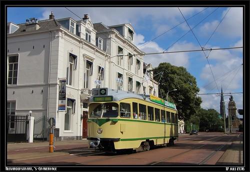 11/11 Tourist Tram: HTM 1180 Alexanderstraat, 17-07-2016