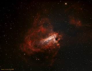 Messier 17 - The Swan Nebula