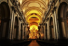 Haven of Worship. (Wilickers) Tags: canon eos 60d cathedral lighting architecture photography argentina south america buenosaires decoration patterns colors contrast saturation structure indoors