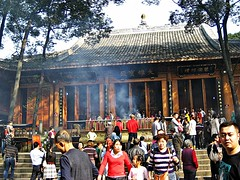 IMG_7307 Leshan (farfalleetrincee) Tags: asia china sichuan leshan  travel guide tourism adventure temple people religion incense