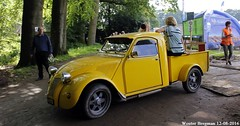 Citron 2CV pick up 1967 (XBXG) Tags: xj8483 citron 2cv pick up 1967 citron2cv 2cv6 2pk eend geit deuche deudeuche pickup geel yellow jaune azu custom icccr 2016 landgoed middachten de steeg desteeg rheden gelderland nederland holland netherlands paysbas vintage old classic french car auto automobile voiture ancienne franaise france frankrijk