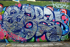 graffiti amsterdam (wojofoto) Tags: graffiti amsterdam netherland nederland holland wojofoto wolfgangjosten ndsm bbr