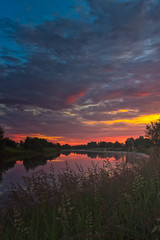 Sunset Clouds Over The River Bend (k009034) Tags: 500px water copy space finland matkaniva oulainen pyhjoki bend clouds countryside dramatic sky evening nature night no people plants reflection river rural summer sunset teamcanon copyspace dramaticsky nopeople