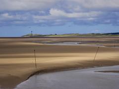 Beach at Hightown (Maggie's Camera) Tags: beachhightown formby crosby merseyside merseyestuary summer2016 sand sky yellow blue north west