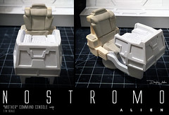 NOSTROMO-MOTHER-CHAIR7 (sith_fire30) Tags: alien nostromo scratchbuilding model building sheet styrene diorama prometheus covenant narcissus shuttle ripley rildley scott mother muthur6000 sithfire30 dayton allen custom action figure
