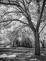 P9050324 - Anderson Chapel (Syed HJ) Tags: olympusomdem5 olympusem5 olympus em5 olympusmzuikodigitaled1442mmf3556iir olympusmzuiko1442mmf3556 olympus1442mmf3556 olympus1442mm 1442mm infrared 950nm blackandwhite blackwhite bw edgewoodcemeterynashuanh edgewoodcemetery nashuanh cemetery nashua nh chapel andersonchapel
