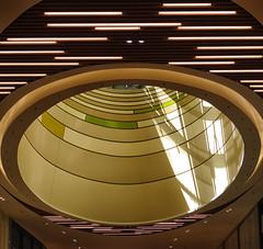 Big Magnifier / Groot vergrootglas (jo.misere) Tags: skylight koepel centre shopping mall kleuren colors