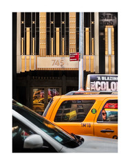 5th Avenue Collage (icypics) Tags: 5thave america architecture newyork streetphotography cab taxi