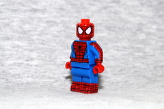 Updated Spider-Man (Evgenion) Tags: lego custom minifigure minifig figure fig action marvel comics books moc spiderman spider man super heroes superheroes peter parker  classic