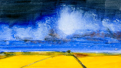 route 07 (Frdric Glorieux) Tags: frdricglorieux france acryl a4 art painting peinture road route